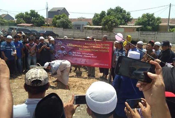 Peletakan Batu Pertama Relokasi Pesantren Mimbar Huffazh Bekasi, Keluarga Besar Sekolah Bunyan & Mimbar Huffazh Ucapkan Terimakasih