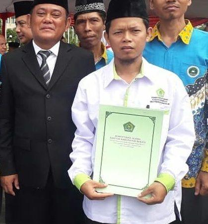 GPAI SDIT Bunyan Indonesia Juara 1 Lomba Literasi Kemenag Bekasi